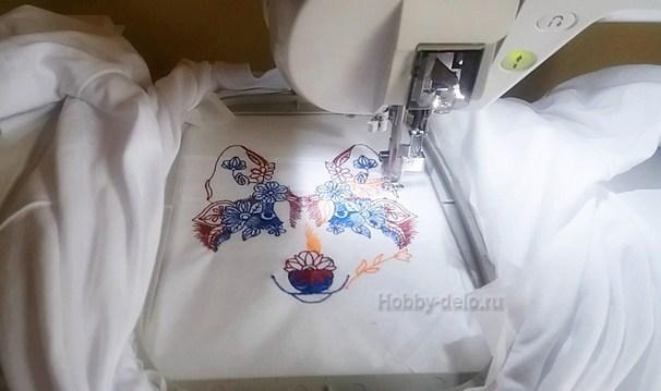 Машинная вышивка со схемами для начинающих, скачать которые можно бесплатно