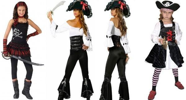 Пиратские костюмы своими руками: просто и быстро в домашних условиях
