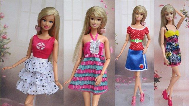 Выкройки одежды для Барби: готовые и простые модели