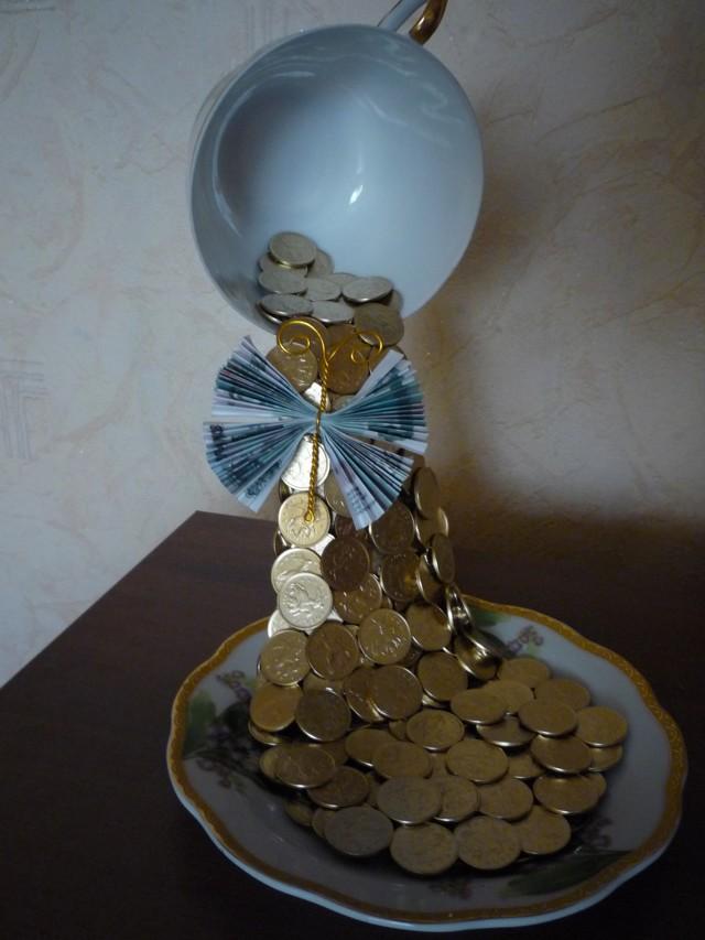Фонтан своими руками в домашних условиях: мастер класс из монет и из бумаги
