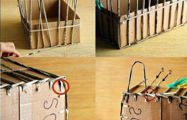 Плетение из бумаги для начинающих: мастер класс и техника трубочками своими руками