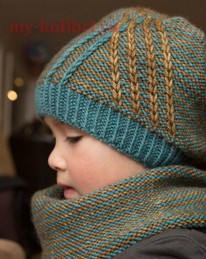 Детская шапка спицами: фото-подборка и схемы, как связать