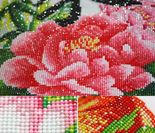 Мастер класс по алмазной мозаике: вышивка с видео и фото подборкой