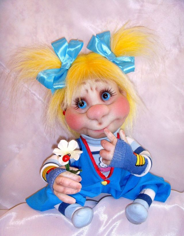 Куклы попики из колготок своими руками: мастер класс с фото и видео