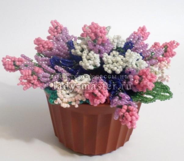 Мастер класс: цветы из бисера на примере полевых цветов