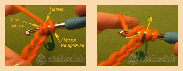 Как вязать полустолбик с накидом крючком: варианты для начинающих