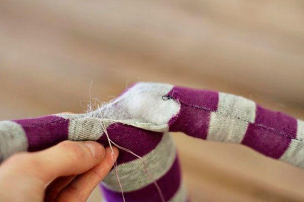 Игрушка из носка своими руками: мастер класс с фото