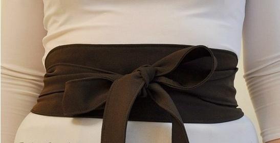 Пояс для платья своими руками из ткани: как сшить формы поясов с фото