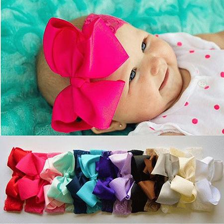Детская повязка на голову своими руками: схема в статье