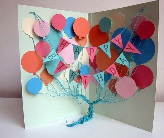 Буквы из картона своими руками: мастер класс как сделать подарок на день рождения