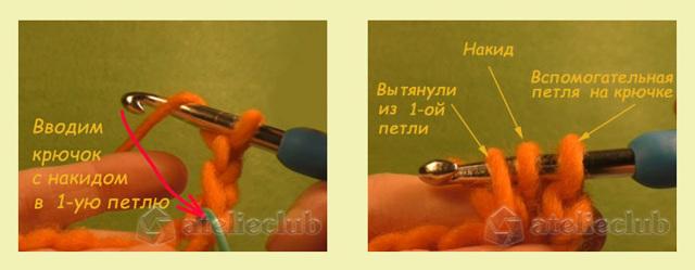 Соединительный столбик крючком: мастер-класс с пошаговыми фото и видео-уроками