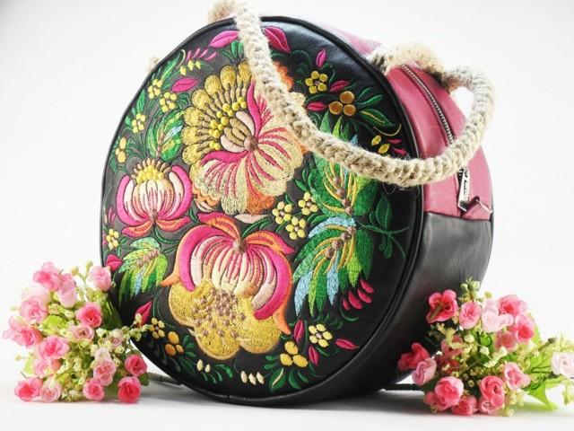 Женская сумка своими руками: варианты из кожи и из ткани