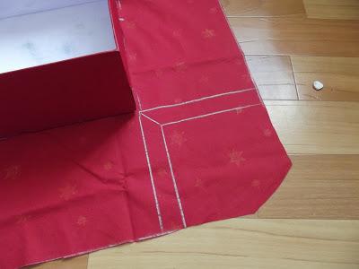 Как обклеить коробку тканью: мастер класс пошагово с фото