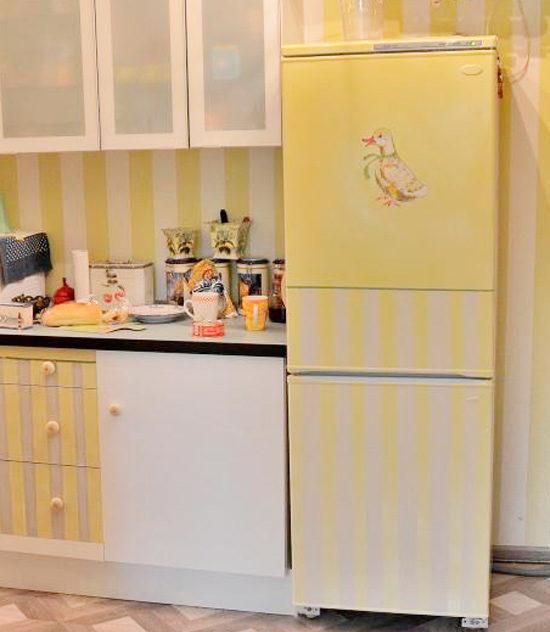 Декупаж холодильника своими руками с фото: мастер класс для новичков