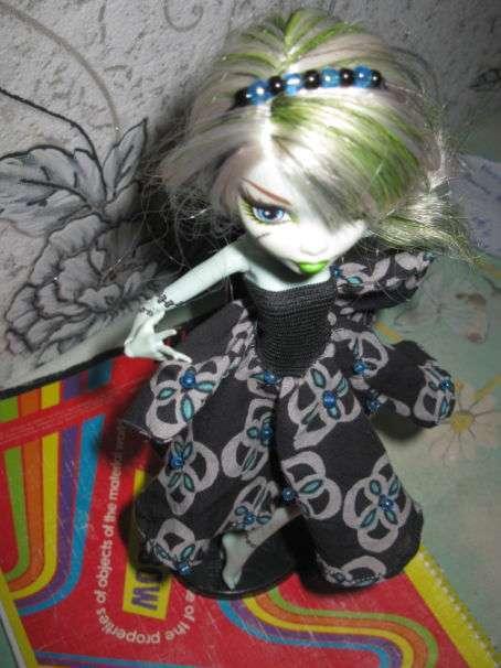 Одежда для кукол монстер хай: выкройки и фото прилагаются