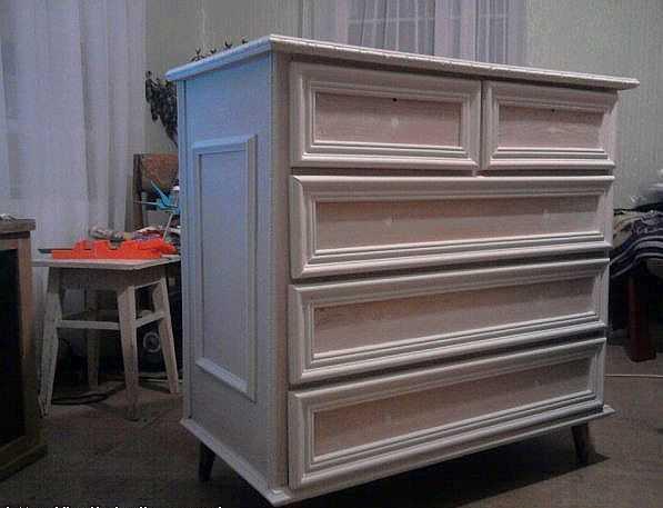 Как переделать старую мебель: делаем своими руками