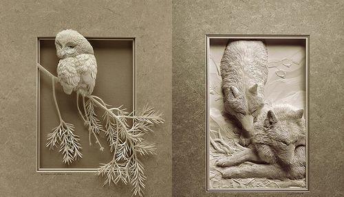 Объемная картина своими руками: мастер класс как сделать на стену