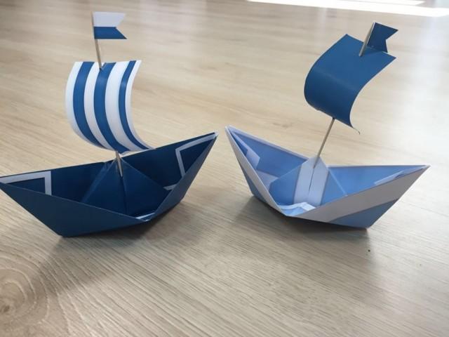 cхемы бумажных корабликов: делаем оригами своими руками