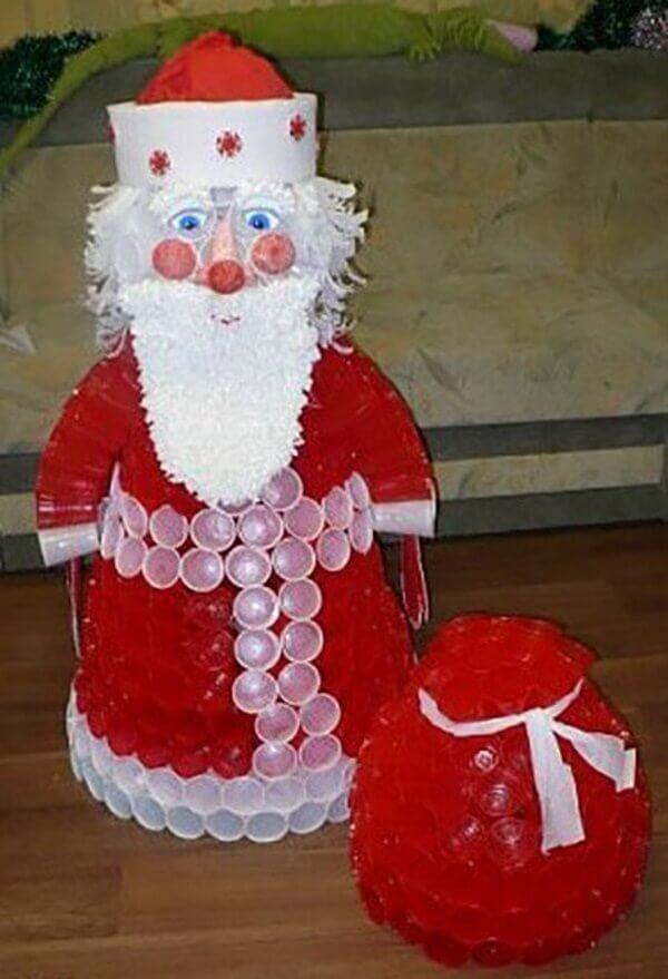 Сани Деда Мороза своими руками: варианты из картона