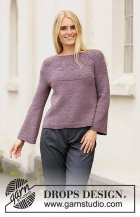 Женский пуловер спицами: схемы и фото с описанием шитья реглана своими руками