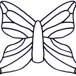 Мастер класс по бабочкам из пластиковых бутылок: шаблоны и трафарет поделок