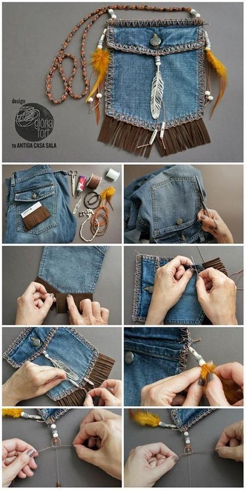 Одежда из старой одежды своими руками: делаем из старых джинс с фото