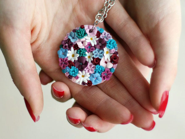 Бижутерия из полимерной глины: мастер класс своими руками с фото