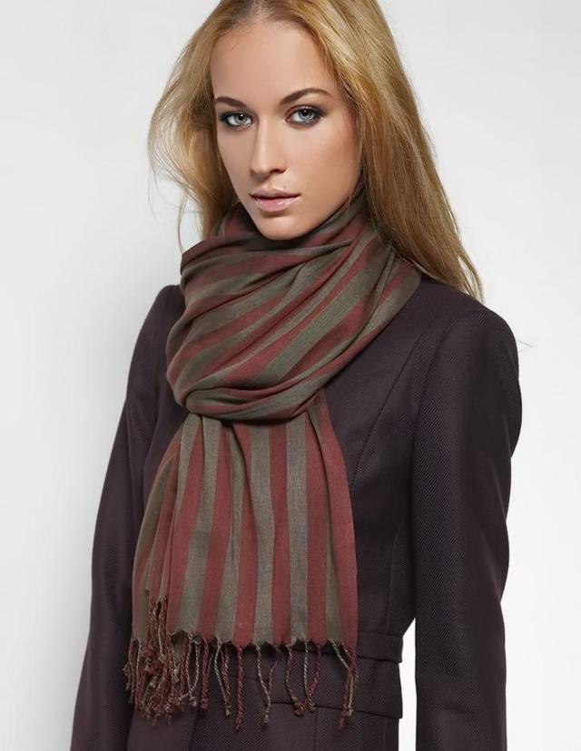 Как красиво завязать шарф: фото и видео инструкции для шеи и головы