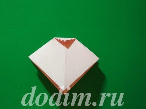 Оригами бантик: пошаговая инструкция и схема