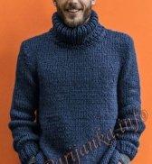 Мужская безрукавка спицами: схемы и описание хода вязания