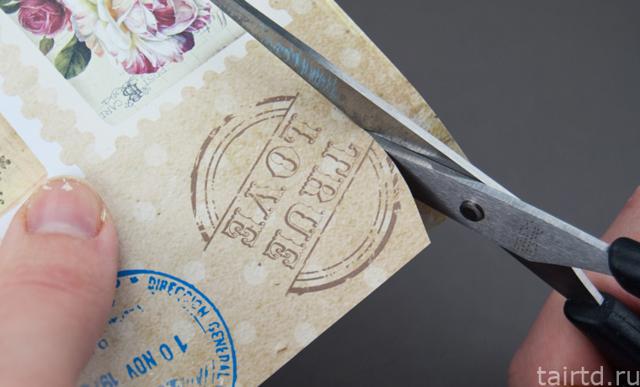 Бирка своими руками: шаблон для изделий ручной работы