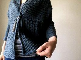 Кардиган трансформер спицами: делаем своими руками
