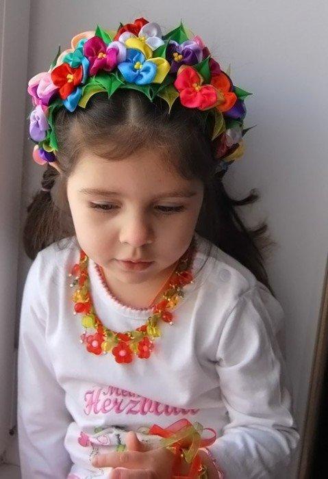Украинский венок своими руками: мастер класс как можно сделать на голову