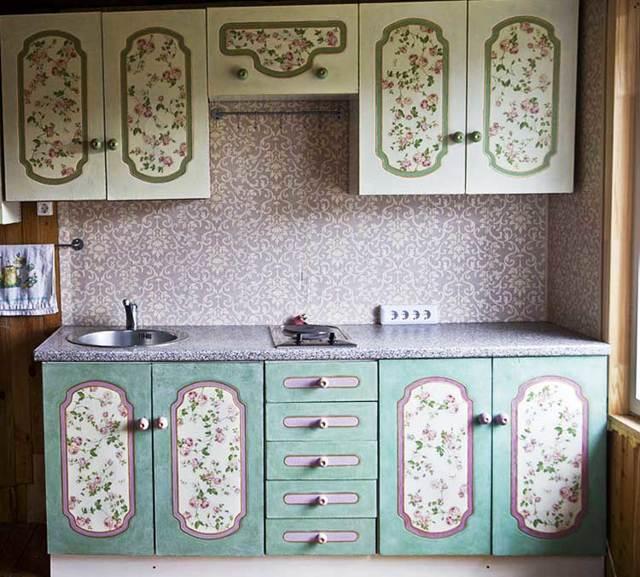 Декор мебели своими руками: варианты в стиле прованс