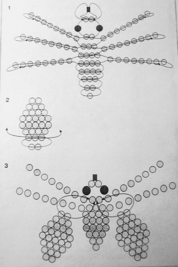Картинки бисероплетение и схемы для начинающих