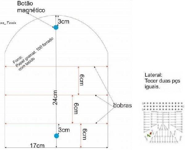 Чехол для очков крючком: схема и пошаговое описание с видео-уроками и фото