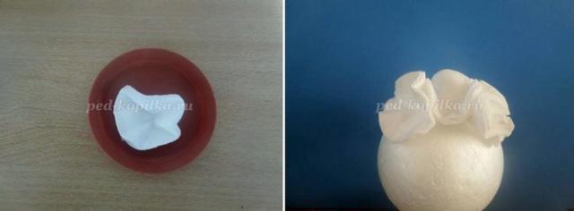 Мастер класс: топиарий из ватных дисков своими руками, свадебный топиарий пошагово с фото-подборкой