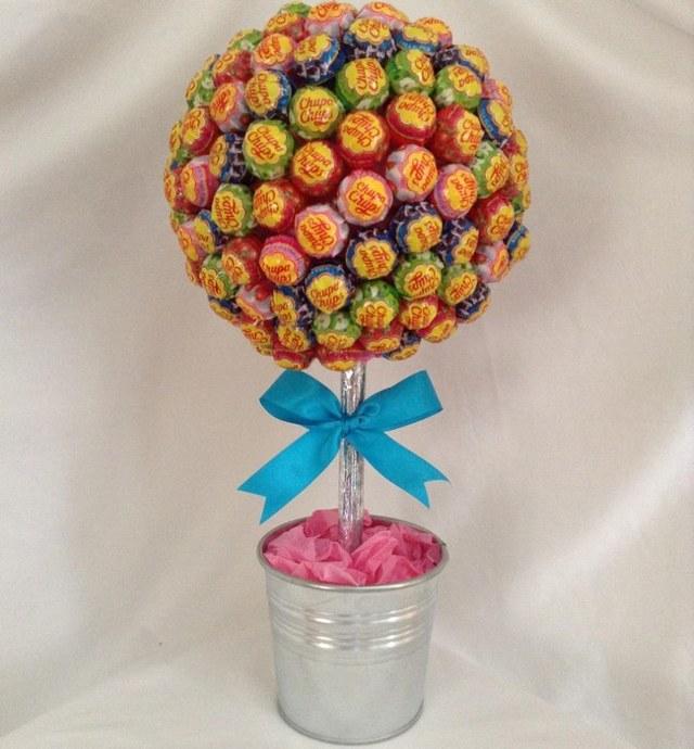 дерево из конфет своими руками пошаговое фото геска являются первыми