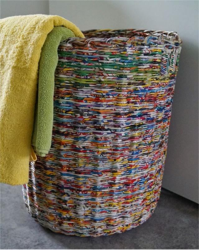 Мастер класс по плетению корзин из газетных трубочек: как плести корзину с ручкой