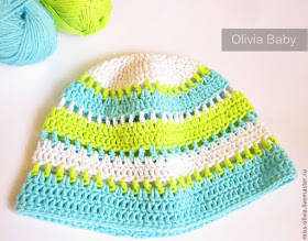 Ажурная шапочка для девочки крючком: вяжем на лето