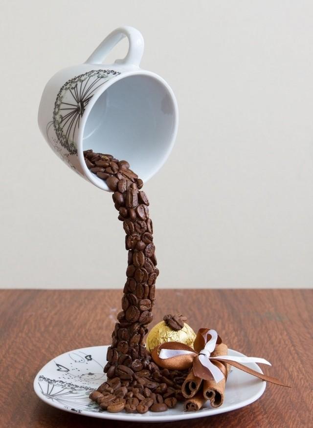 кружка из кофейных зерен своими руками фото протея тяжёлое