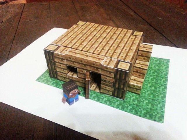 Оригами майнкрафт из бумаги: схемы как сделать блоки с фото и видео подборкой