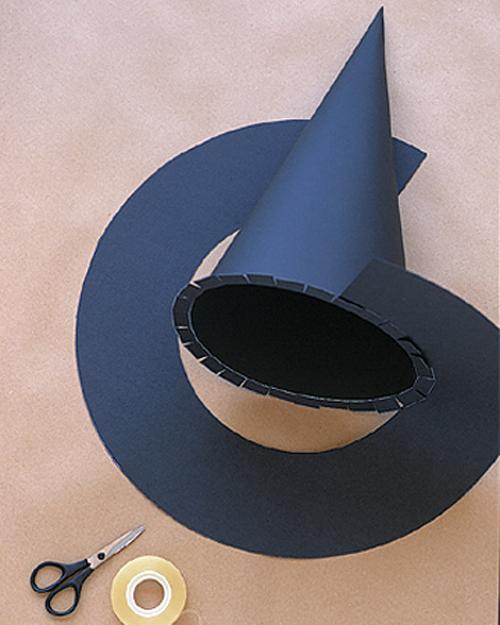 Шляпа ведьмы своими руками: пошаговый МК по изготовлению с фото и видео