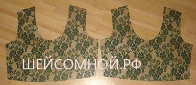 Выкройка платья с завышенной талией в пол: из трикотажа и других материалов