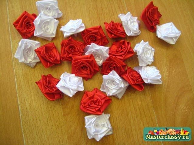 Топиарии из роз: мастер класс с фото