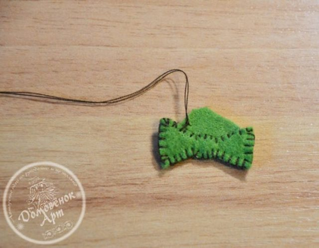Ёлочные игрушки из фетра: мастер класс и шаблоны для работы в домашних условиях