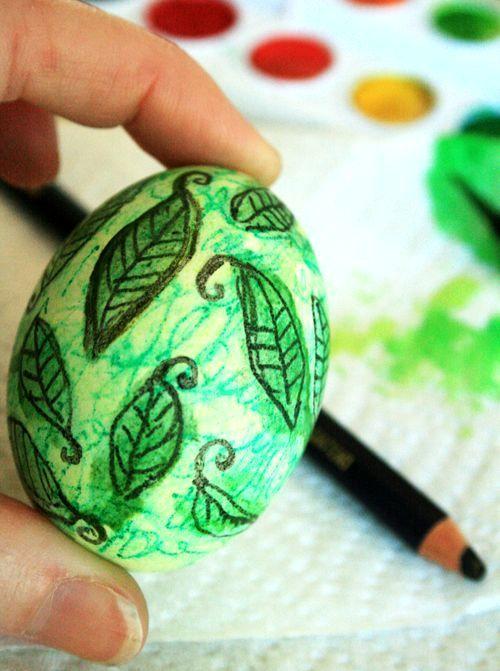 Роспись пасхальных яиц своими руками: мастер класс как ...