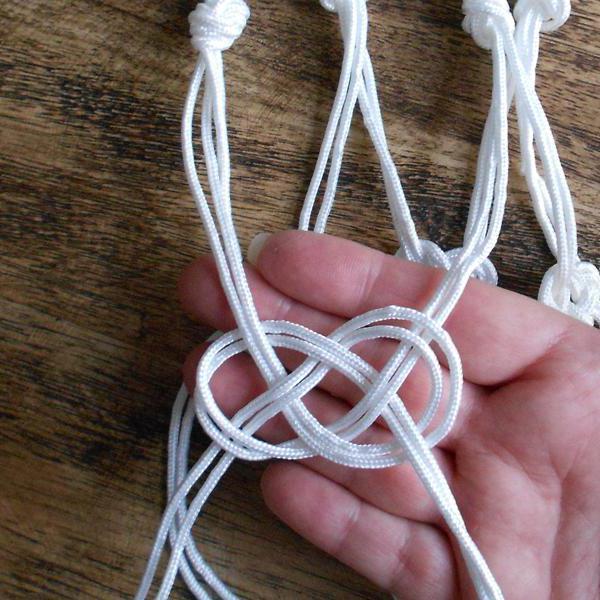 Ткацкий узел: видео уроки как вяжется и схема