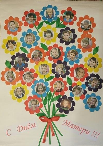Плакат ко дню матери: шаблоны исполнения с фото