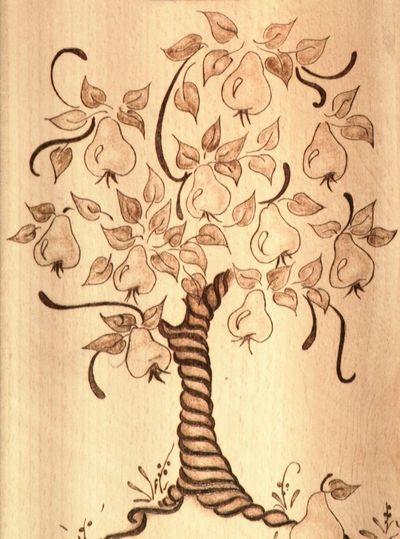Картины для выжигания по дереву: скачать лёгкие, красивые эскизы и распечатать бесплатно